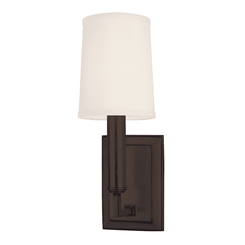 Clinton 1 Light Wall Sconce Old Bronze