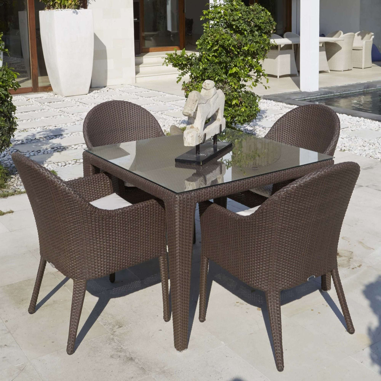 Malta Square Dining Table By Skyline Design