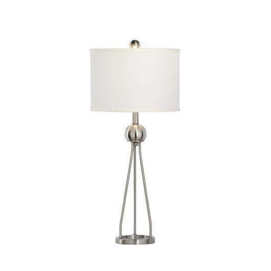 Duncan Nickel Brushed Table Lamp