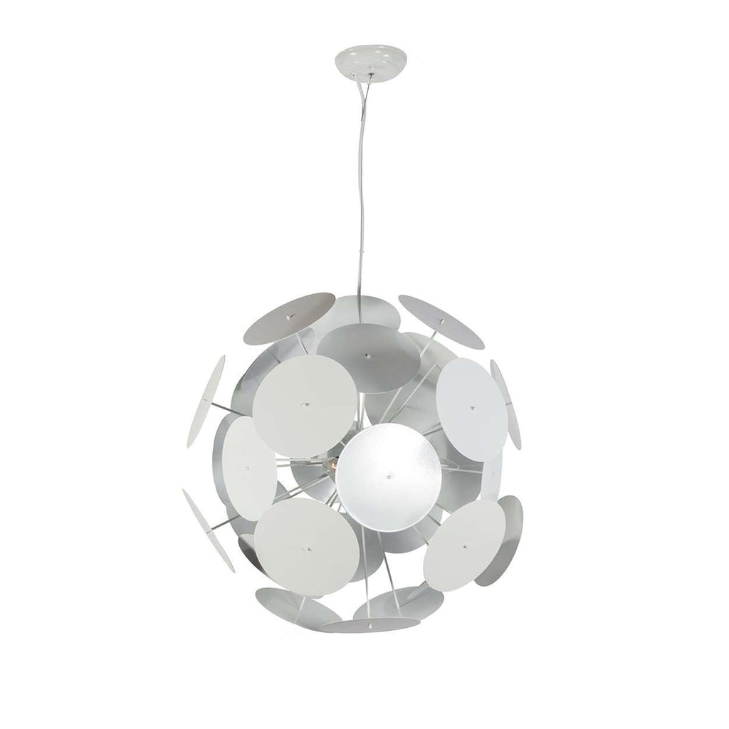 Modern Mine Kafon Pendant Lamp - White