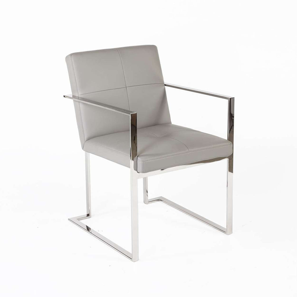 Modern Kubish Dining Arm Chair