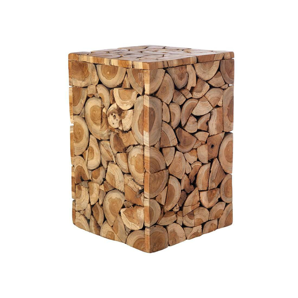 Teak Stool Limited Edition - Square - [50gift] — France & Son
