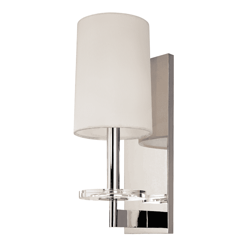 Chelsea 1 Light Wall Sconce Polished Nickel