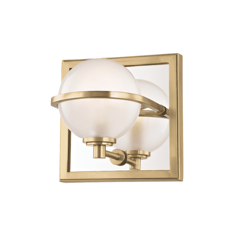 Axiom 1 Light Bath Bracket Aged Brass