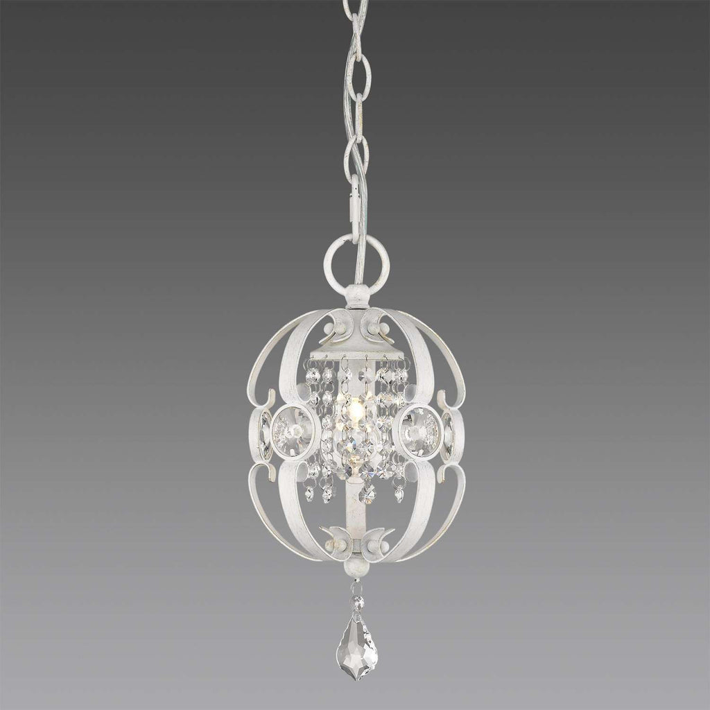 Ella FW Mini Pendant French White