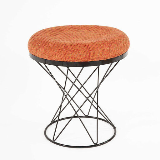 Modern Tyras Stool - Orange