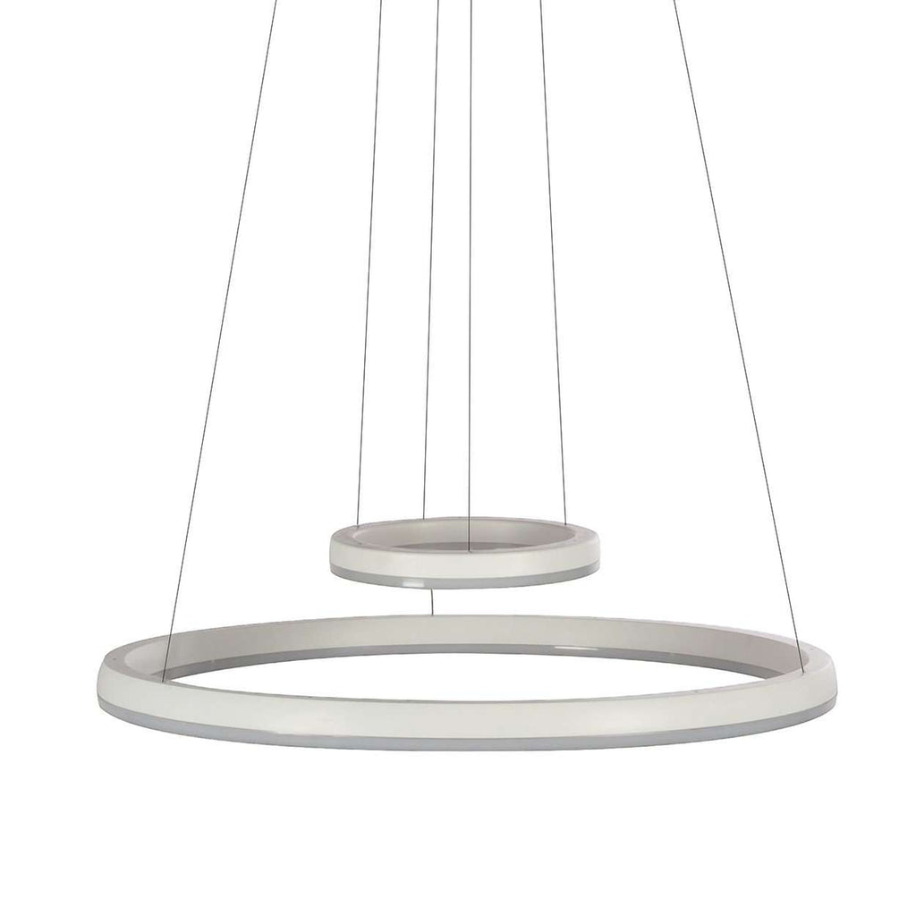 Dual Halo Ceiling Lamp