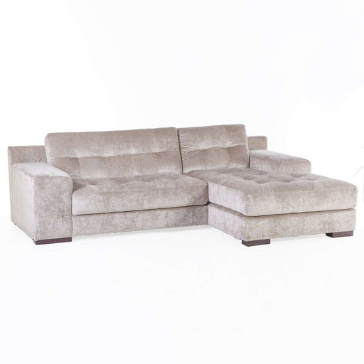 Contemporary Egil Sectional Sofa - Champaigne