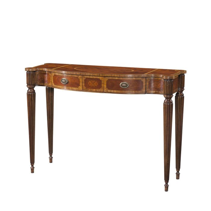 The Georgian Cabinetmaker Console Table
