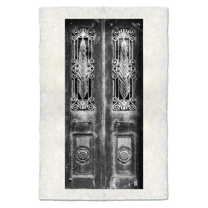 Decorative Design Door Print