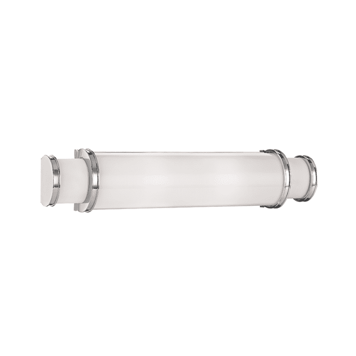 Malcolm 2 Light Led Bath Bracket Polished Nickel