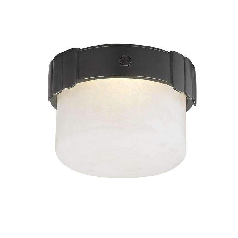 Beckett Led Flush Mount Old Bronze