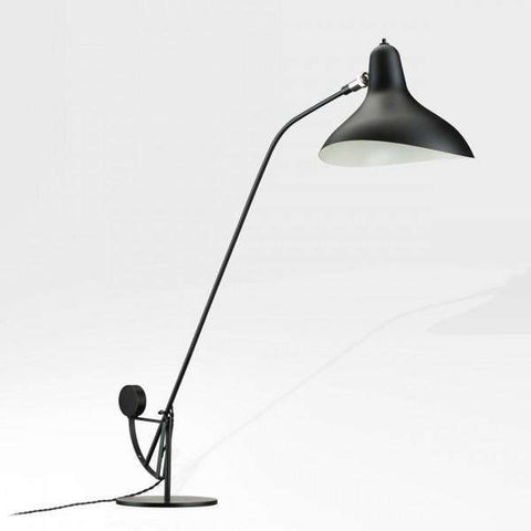 Mantis BS1 Table Lamp - Black with Round Base