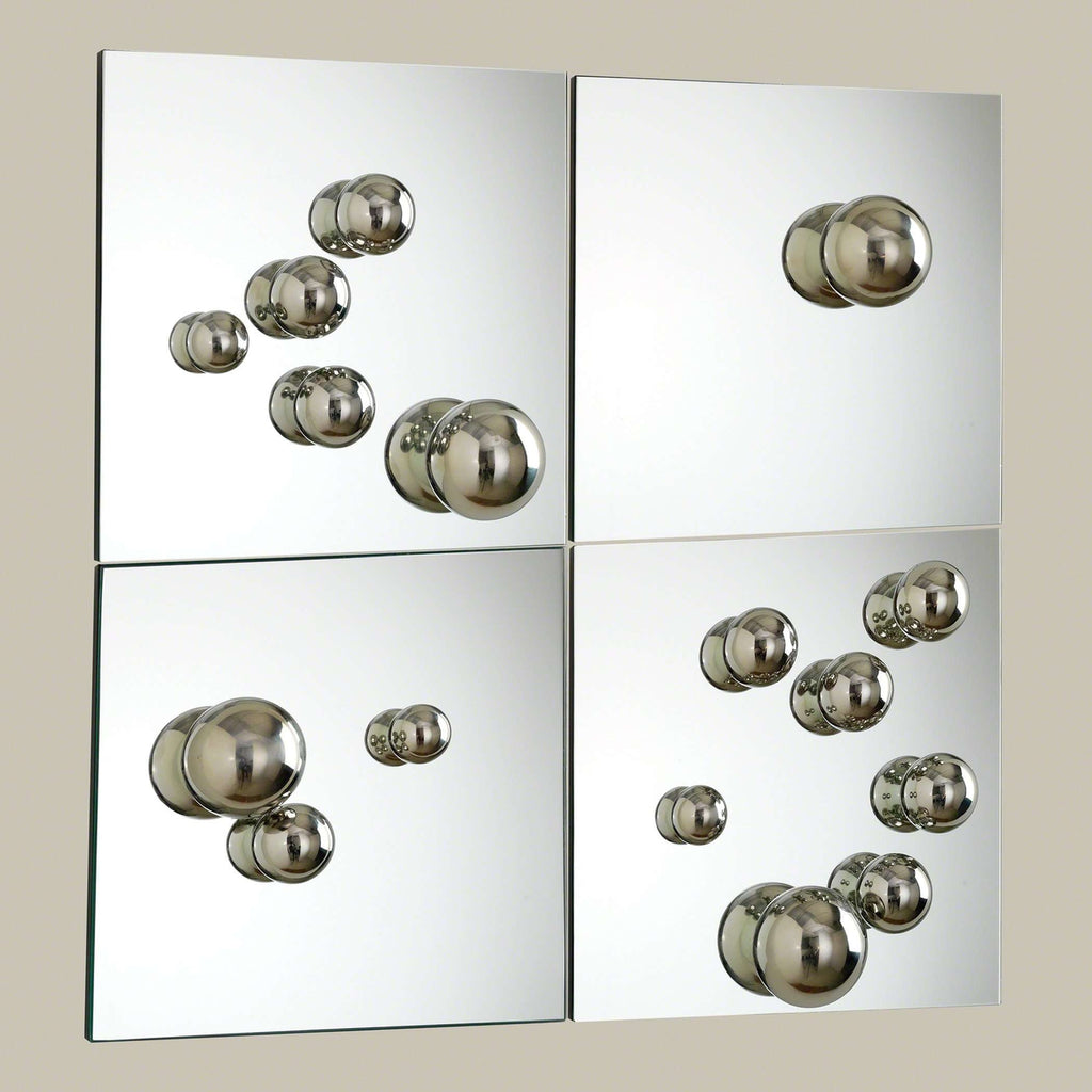 Govind Set of 4 Sphere Mirrors
