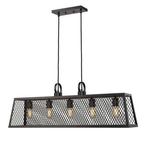 Abbott Linear Pendant Black