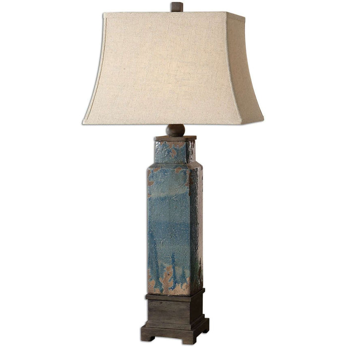 Uttermost Soprana Blue Table Lamp