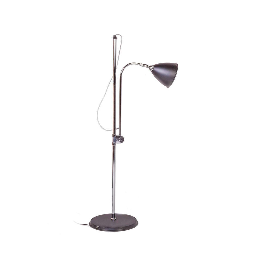 Mid-Century Modern BL3S Floor Lamp - Black Reproduction inspired by Robert Dudley Best