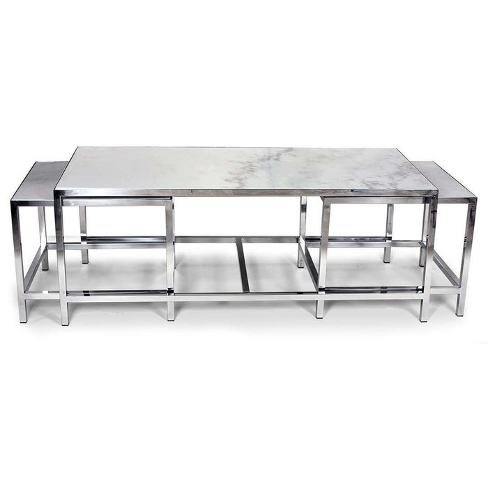 Modern Abboid Nesting Coffee Table Set