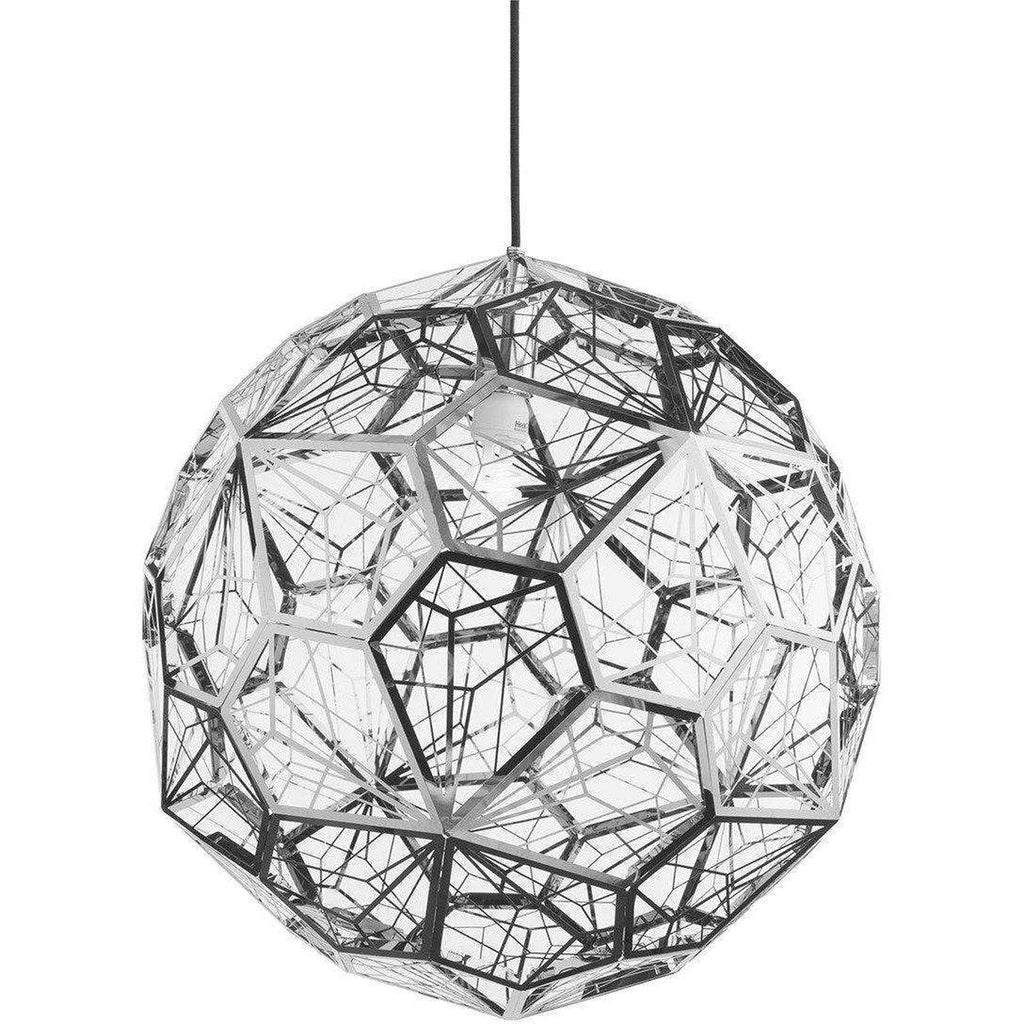 Tom Dixon Etch Light Web Stainless Steel Pendant
