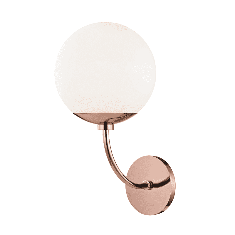 Carrie 1 Light Wall Sconce - Polished Copper