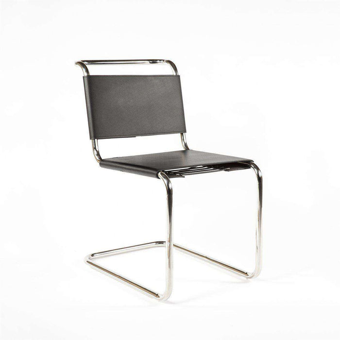 Mid-Century Modern Reproduction B33 Chair - Dining Side Chair Inspired by Marcel Breuer