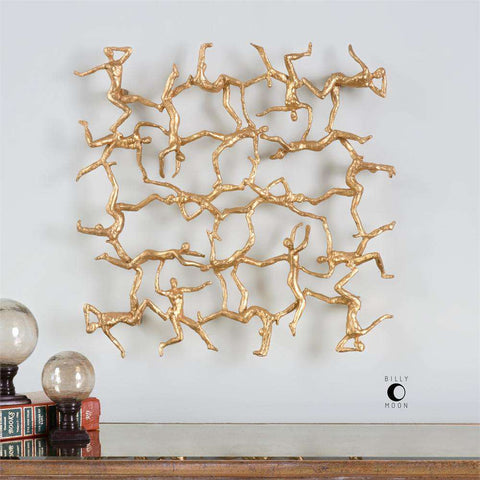 UTTERMOST UTTM-04037 Golden Gymnasts Wall Art