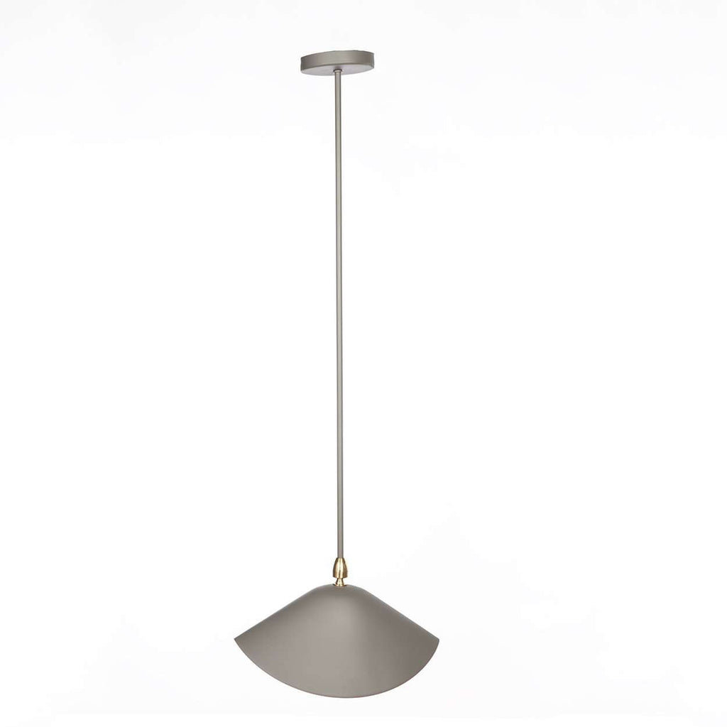 Mid-Century Modern Reproduction MCL-LIB Library Ceiling Lamp - Grey Inspired by Serge Mouille