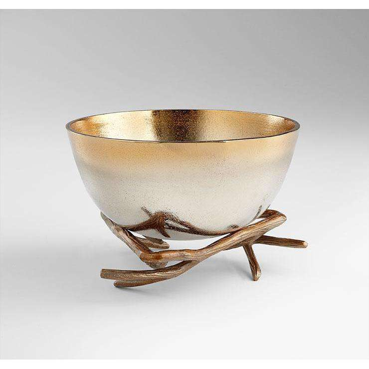Lg Antler Anchored Bowl