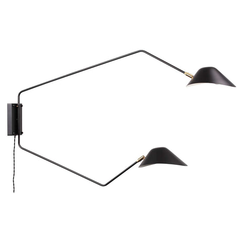 Chapeau Double Rotating Wall Sconce [staff pick] free shipping