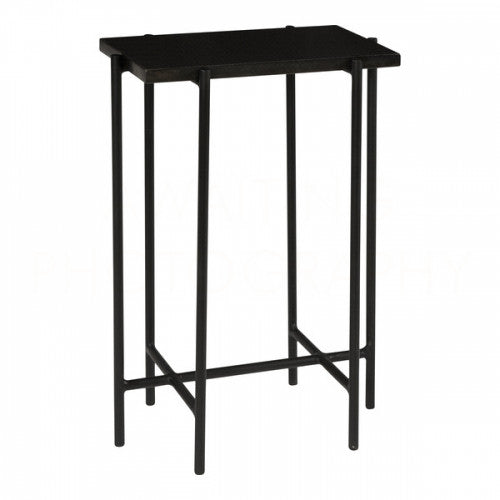 Black Abbott Side Table