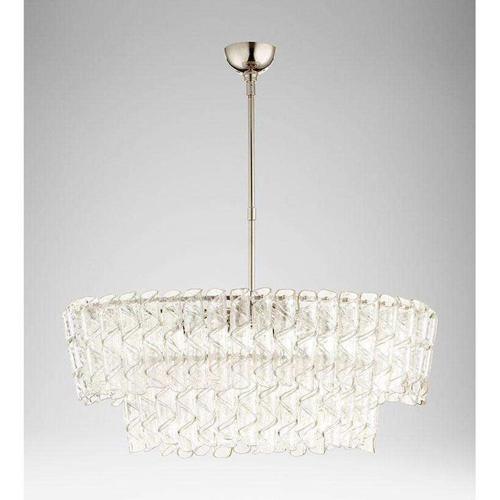 Cannoli 8 Light Chandelier