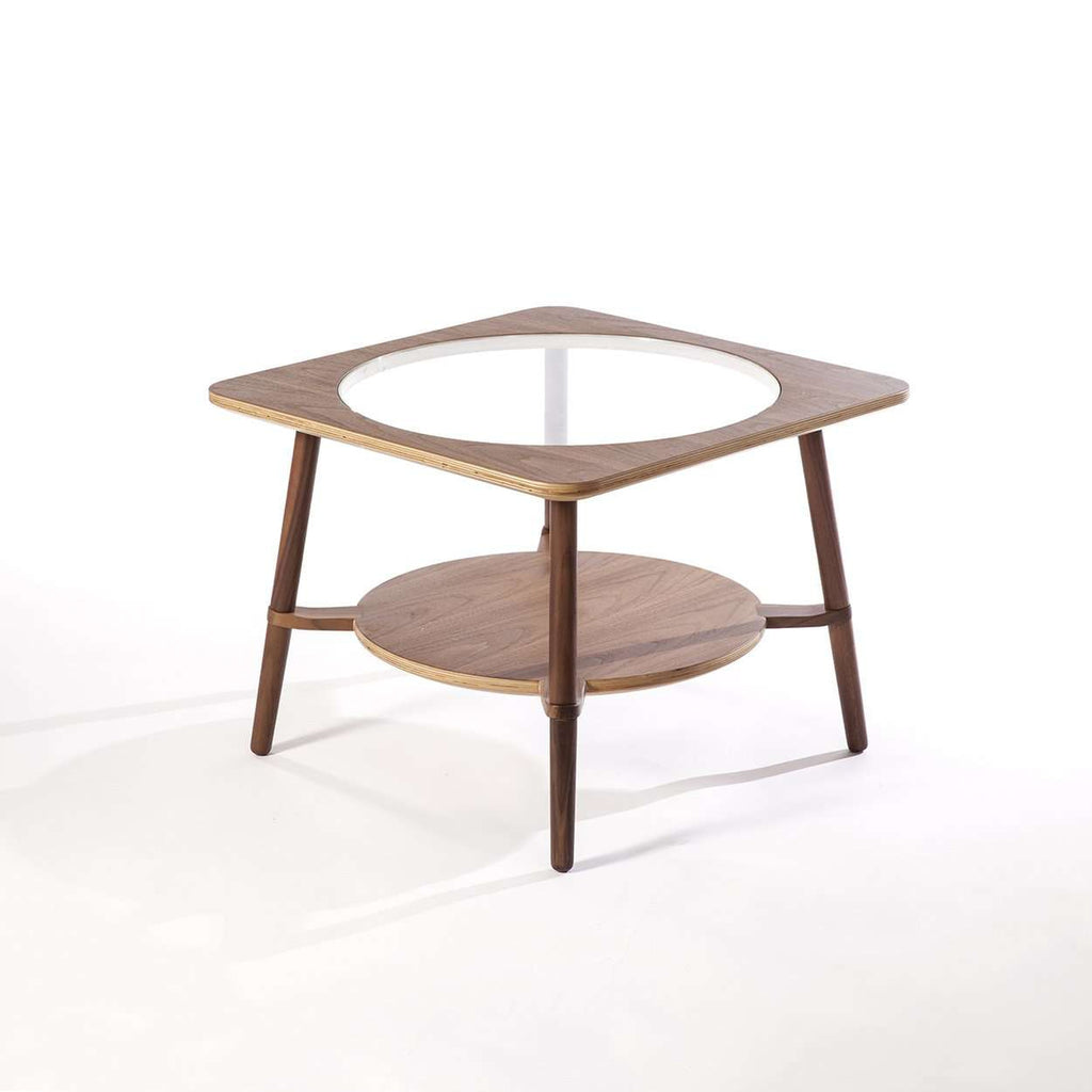 Modern Sean Dix Cutout Low Coffee Table