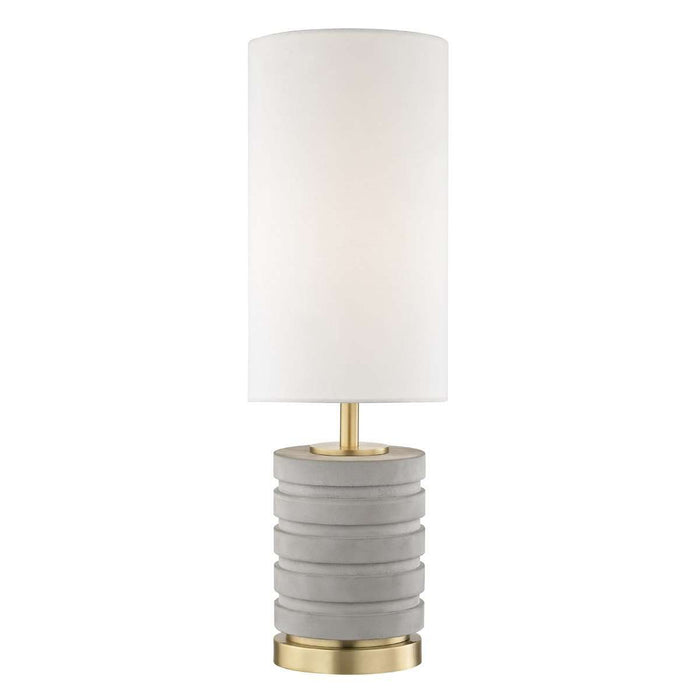 Iris 1 Light Table Lamp