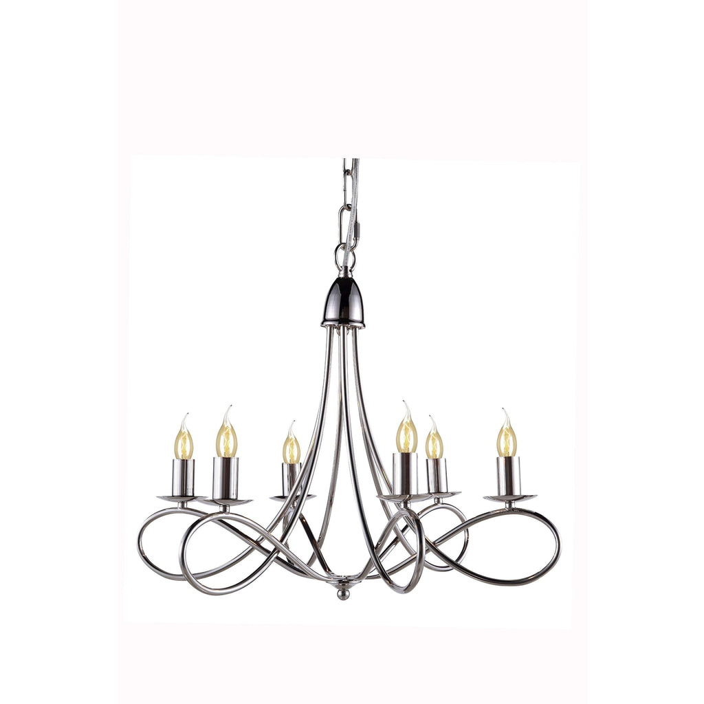 1452 Lyndon Collection Pendant lamp Polished Nickel Finish