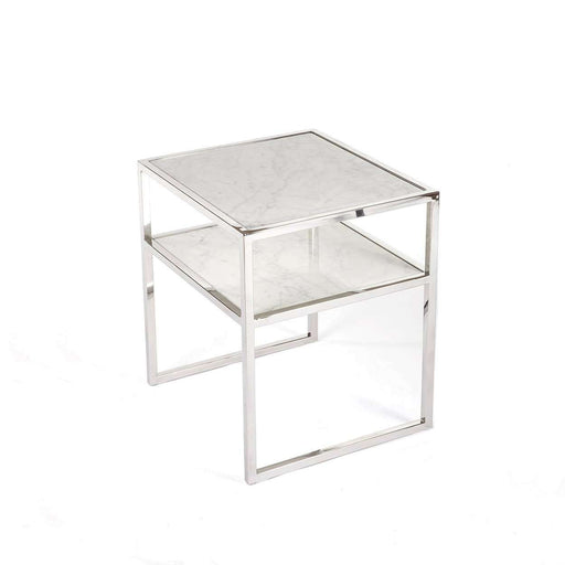 Modern Marmor Stufe End Table