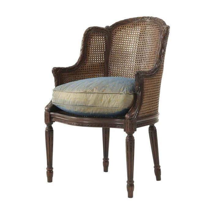 Louis Bergere Accent Chair