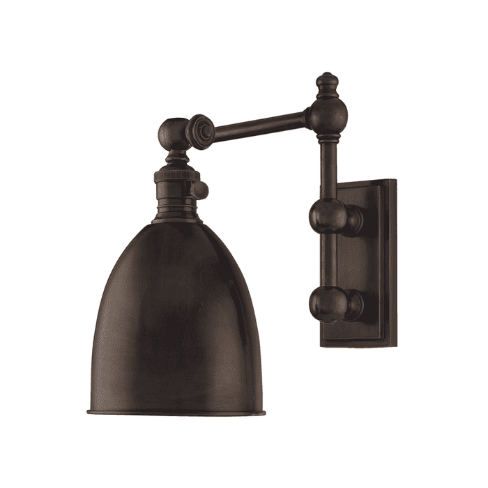 Roslyn 1 Light Wall Sconce Old Bronze