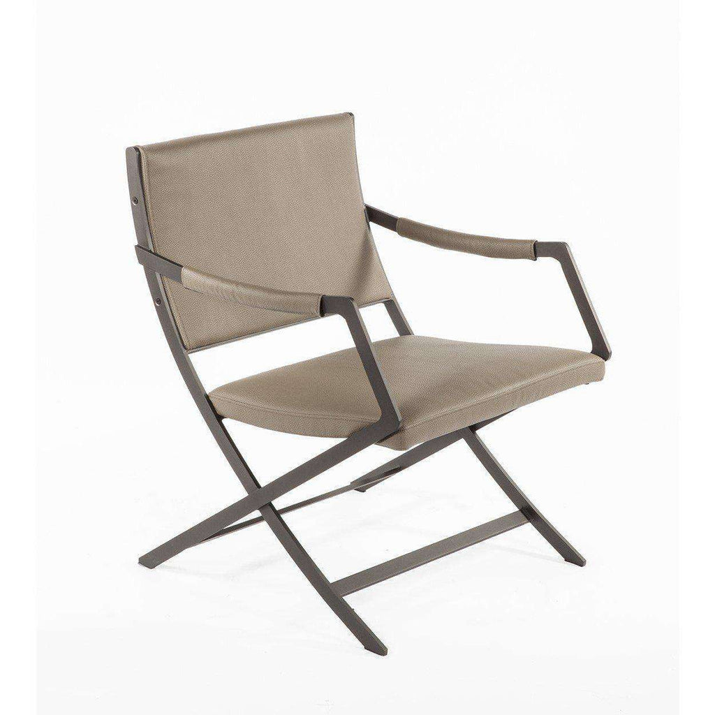 Modern Uggerby Lounge Chair - Taupe