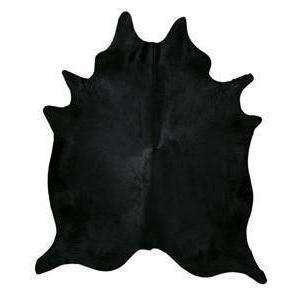 Black Dyed Cowhide