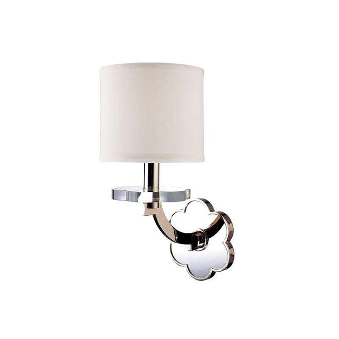 Garrison 1 Light Wall Sconce Polished Nickel