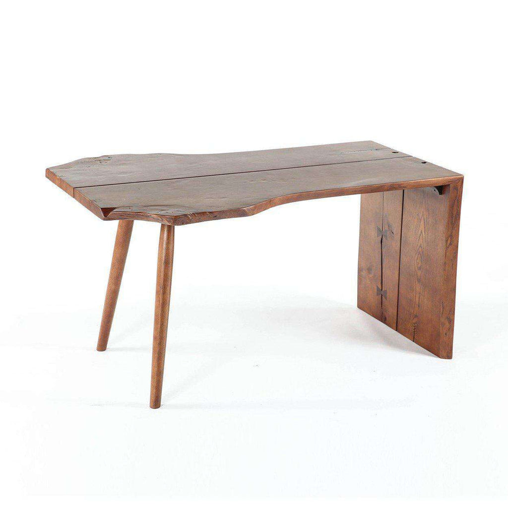 Mid-Century Modern Reproduction Free Flowing Butterfly Desk Inspired by George Nakashima