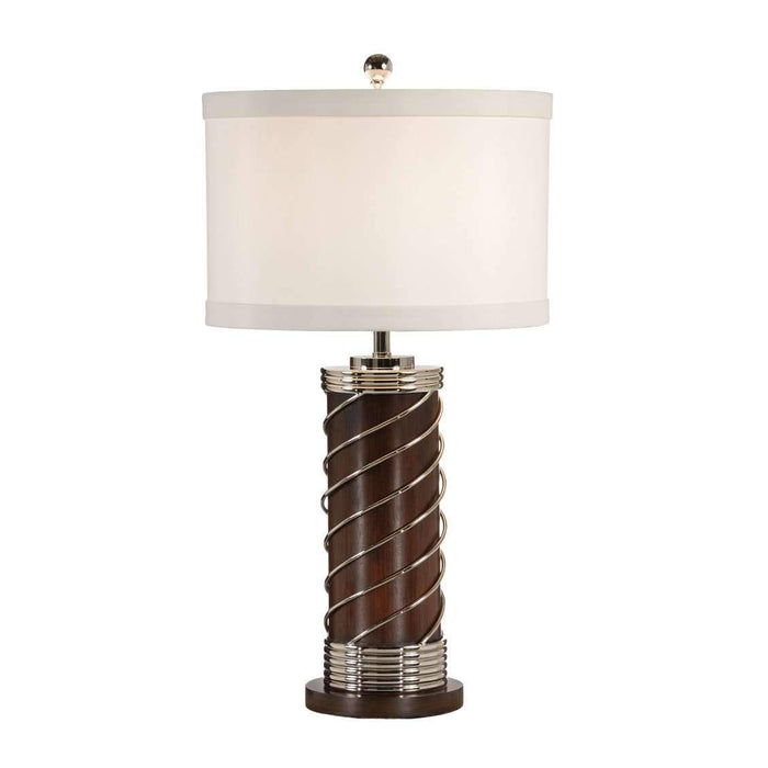 Wrapped Cylinder Lamp