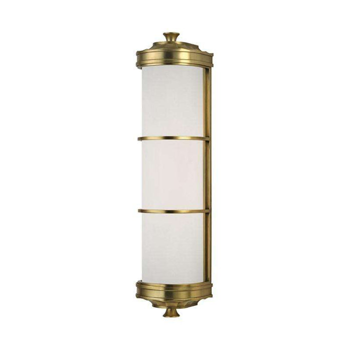 Albany 2 Light Wall Sconce Aged Brass