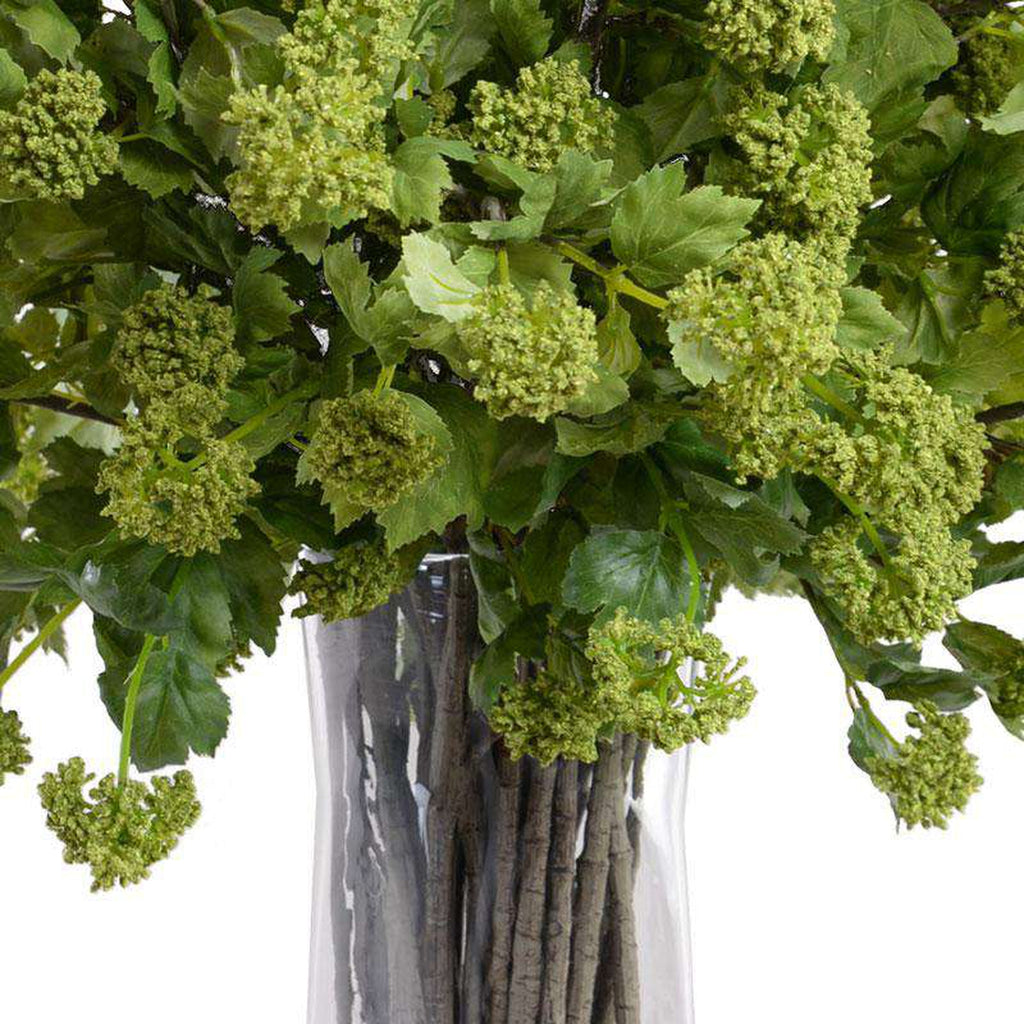 Faux Fresh Viburnum Arrangement_1