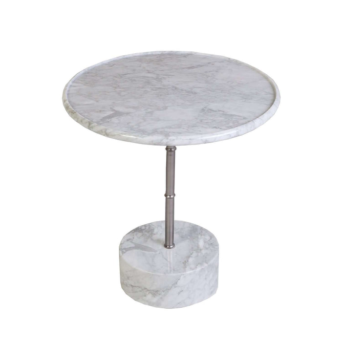 Manubrio Marble Side Table