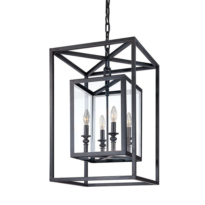 Morgan 4Lt Pendant Medium Deep Bronze