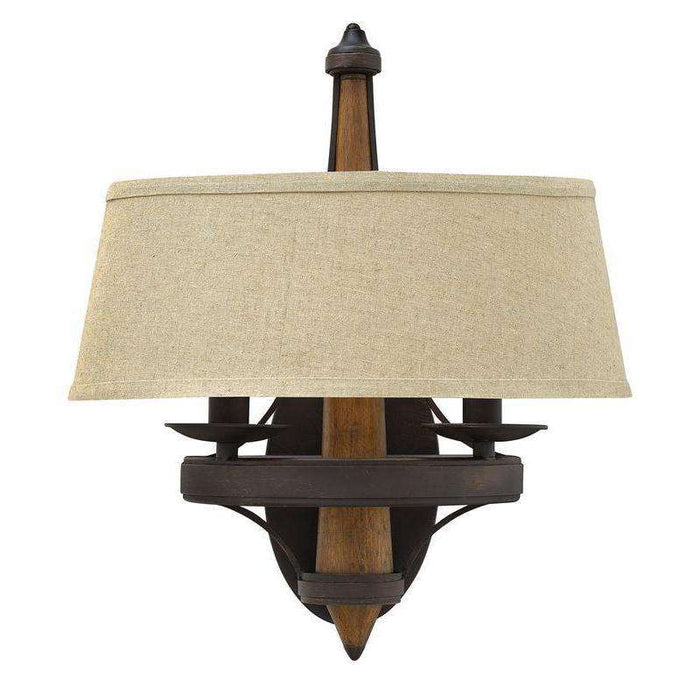 Bastille Two Light Sconce Vintage Bronze