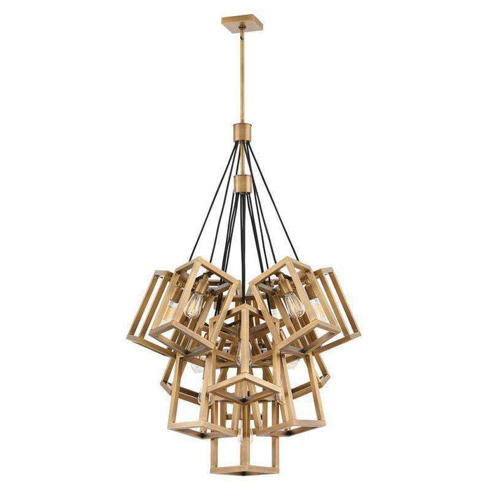 Ensemble Chandelier Brushed Bronze