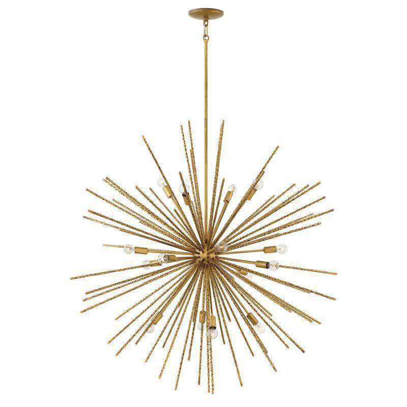Tryst Chandelier Burnished Gold