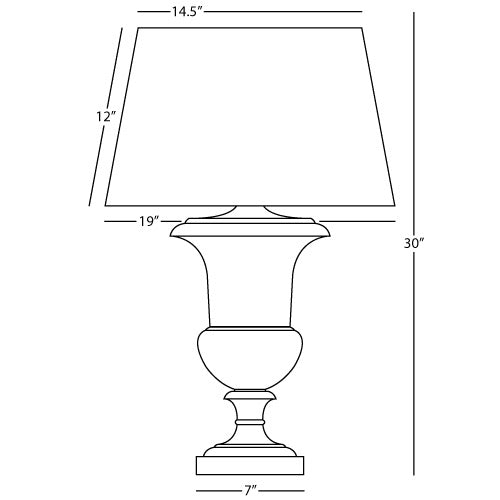 Helena Al Fresco Table Lamp